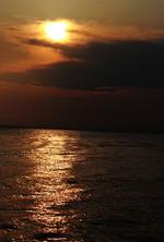 photoshop)ちょっとラグジュアリー感のある夕日写真を作る